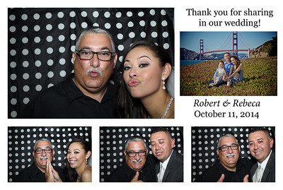 Rebeca & Robert Wedding PhotoBooth