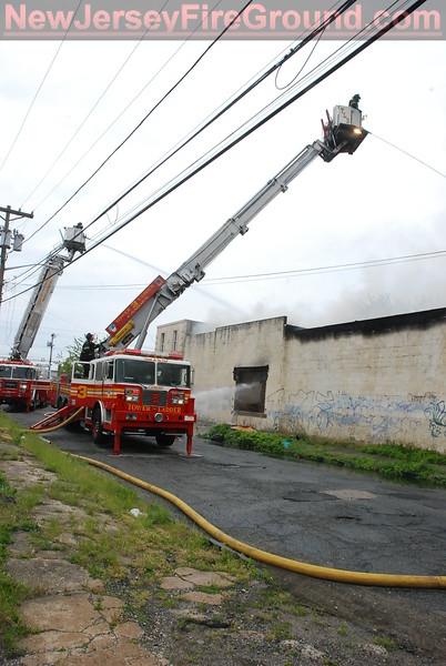4-28-2012 (Camden County) CAMDEN - 616 Kaighan Ave - 3rd Alarm Dwelling Fire