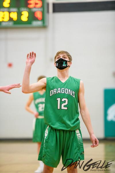 Dragons Boys Basketball vs DC Chargers