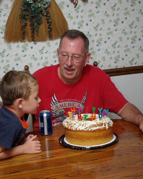 Dad's 62nd Birthday Cellebration, July 2009