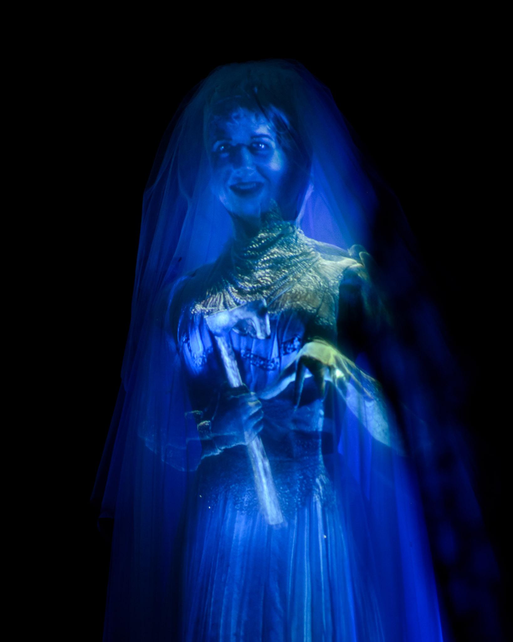 Creepy Bride - Haunted Mansion - Walt Disney World Magic Kingdom