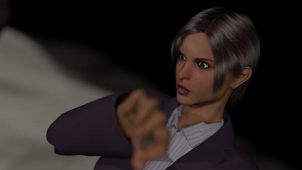 Business Woman Scene Multiple Rigging