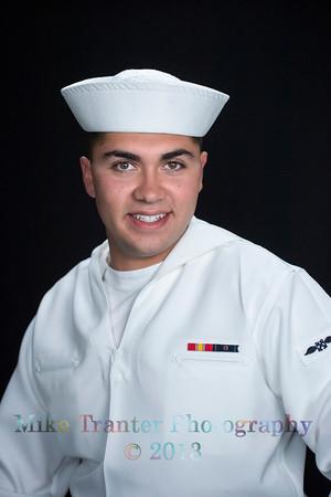 Tyler Hance Naval Portrait