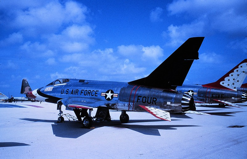 Thunderbirds F-100D FOUR