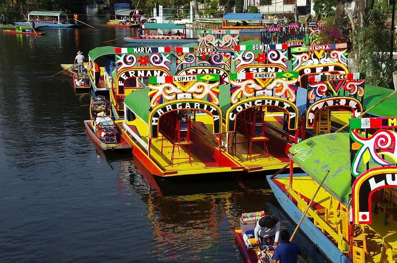 Xochimilco - 3 days in Mexico City itinerary