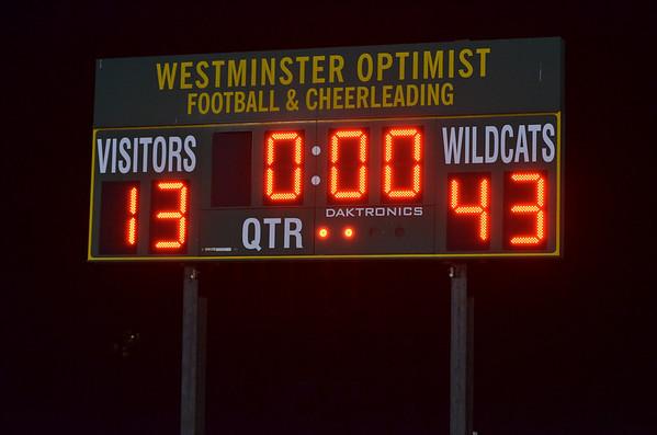Wildcats VS NC Titans 2013