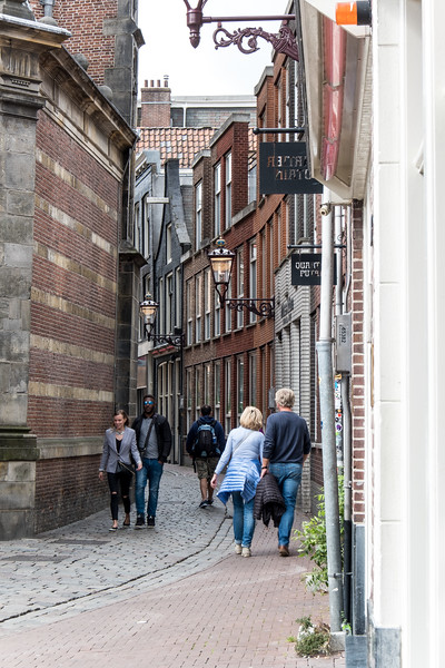 Narrow Streets in the Red Light District