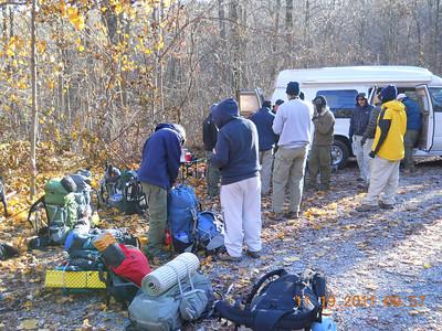AT Backpacking Nov 2011