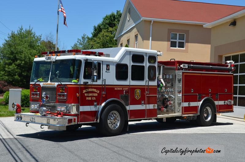 Jacksonville Engine 471: 2004 Seagrave Marauder 1500/1000