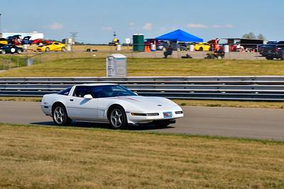 2020 SCCA TNiA July 29th Pitt Race White Vette