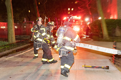 High Rise Fire in Stuyvesant Town