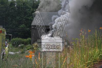 Glastonbury, Ct camper fire
