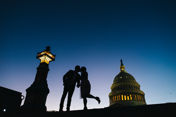 Monica + Fady // Washington, D.C Engagement