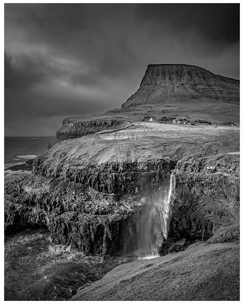 Faroe  Landscape    Black and White Photography by Wayne Heim