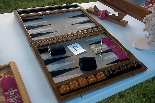 ...backgammon set.Return to Woodworkers Guild