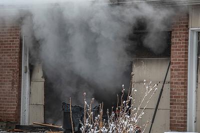 7694 W. Laurel Ave. Garage Fire