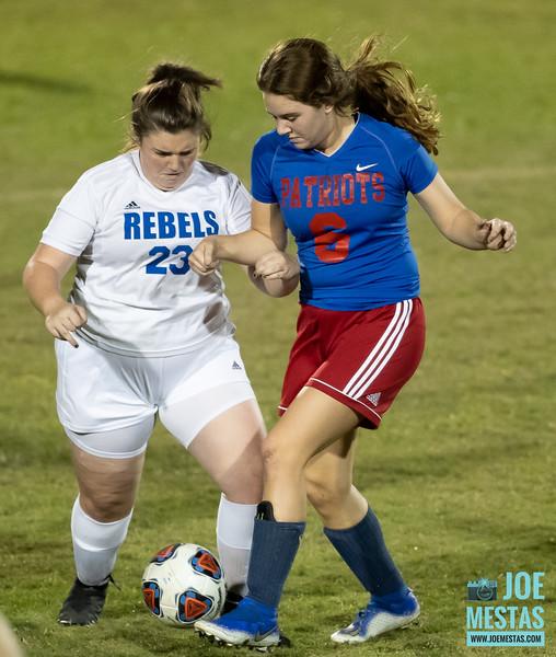Dixie Hollins HS vs Pinellas Park High School Girls JV Soccer