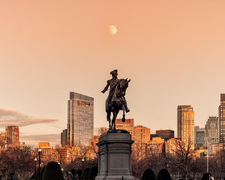 George Washington Moonrise