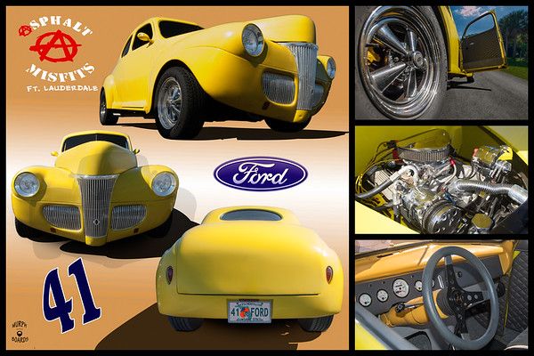 1941 Ford Coupe Yellow Steven