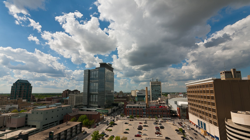 Downtown Winnipeg Afternoon