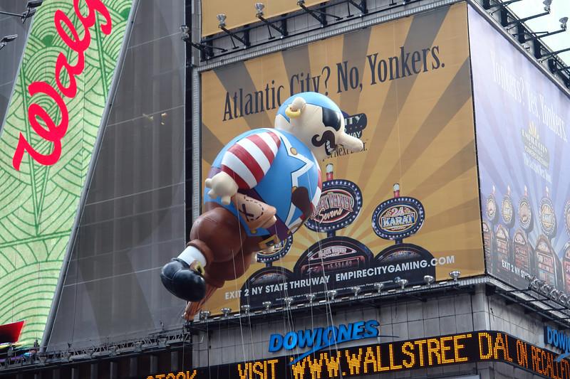 ARRGH! Macy's Thanksgiving Parade 2009 in Manhattan