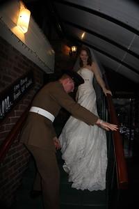Dress Stairs shoot