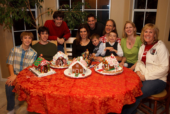 2008 - Gingerbread Houses