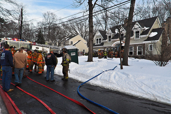 12-31-10 Wyckoff, NJ 2nd Alarm: Shadyside Drive