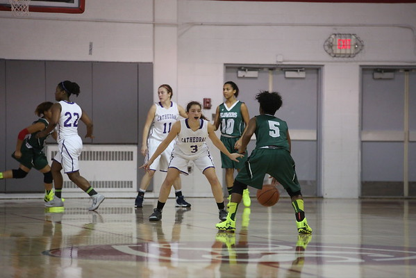 Girls basketball: Cathedral vs. Flowers