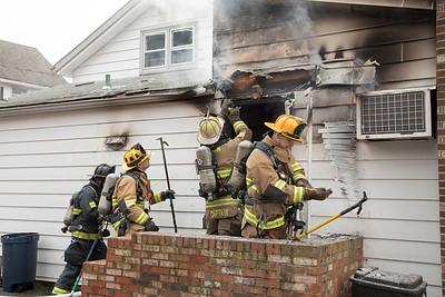 Oak St. Fire (Derby, CT) 3/29/18
