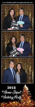 Home Depot 2018 Holiday Party