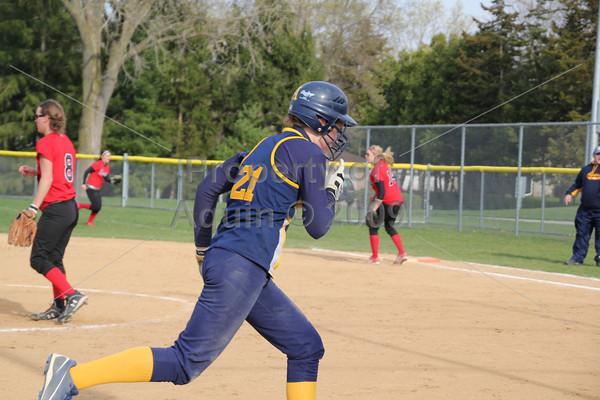 softball v forreston . 5.2.11