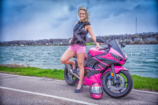 Selina Annette Bike Shoot 1