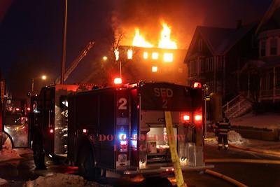 Malden, MA - 6th Alarm, 503-505 Pleasant Street, 1-9-10