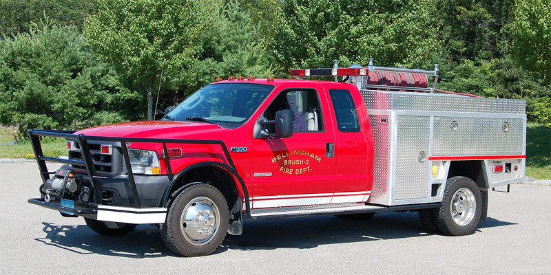 Squad 1 (Ex B-2)   2004 Ford F-550 / Fire One   125 / 300