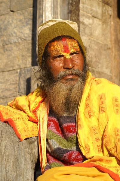 Holy Man, Nepal, 2009.JPG