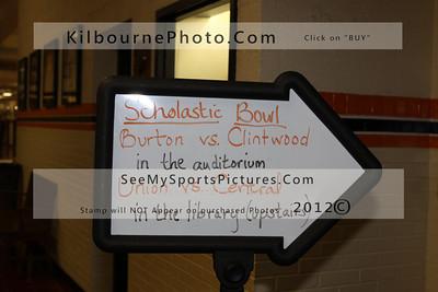 Scholastic Bowl 1-16-12