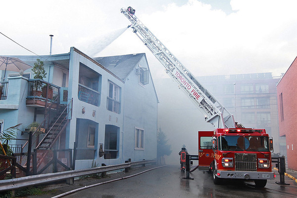 August 21, 2012 - 2nd Alarm - 1025 Queen St. East