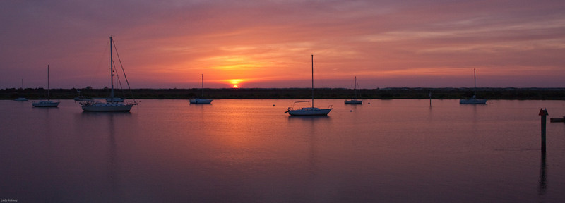 St. Augustine at sunrise