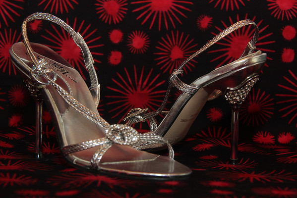 10.03.13 Wild Rose Silver Sandals