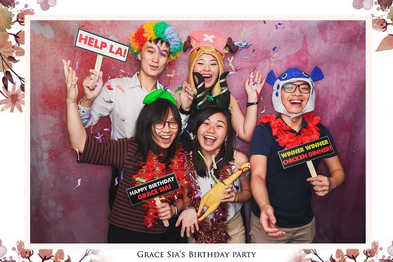 Grace Sia's Birthday   © www.SRSLYPhotobooth.sg