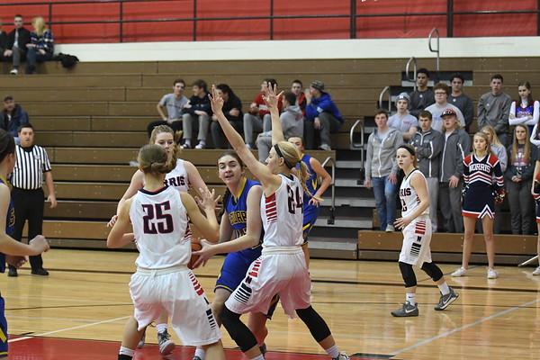 Varsity Girls Basketball vs Seward-Districts