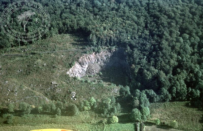 Quarry at Smedjebacken, south Stenestad   EE.1853