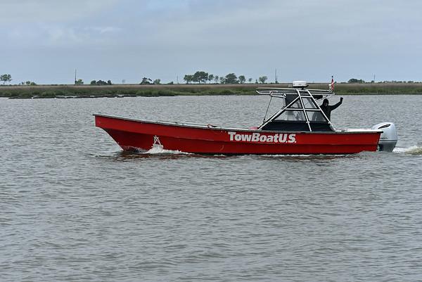 TowBoatUS passing Jekyll Wharf 03-28-19