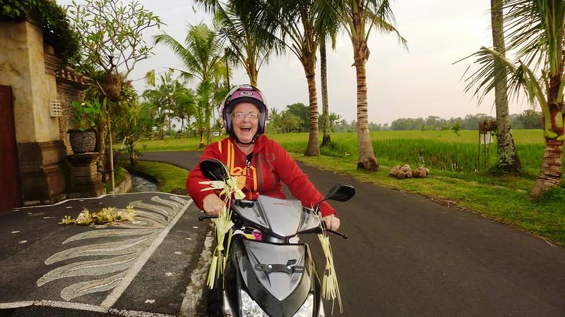 Diane aka IBU .... owner of Rumah Capung, the best concierge in the world