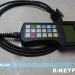 SKU: R-KEYPAD, EasyRoute CNC Router Control System Hand-held Rugged Keypad with Magnet Mount