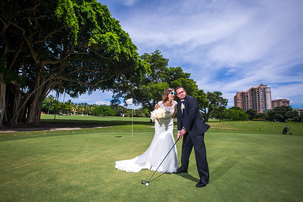 Marissa and Oded, Coral Gables Country Club