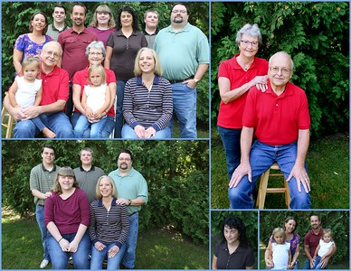 Al & Lisa Schulz 50th Anniversary 2017 Family Portraits