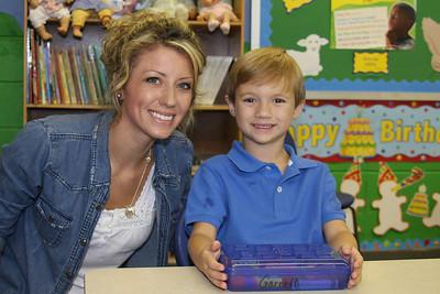 Kindergarten 1st day Aug 2011