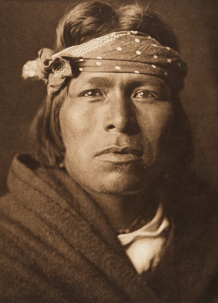 An Acoma man (The North American Indian, v. XVI. Norwood, MA, The Plimpton Press,  1926)